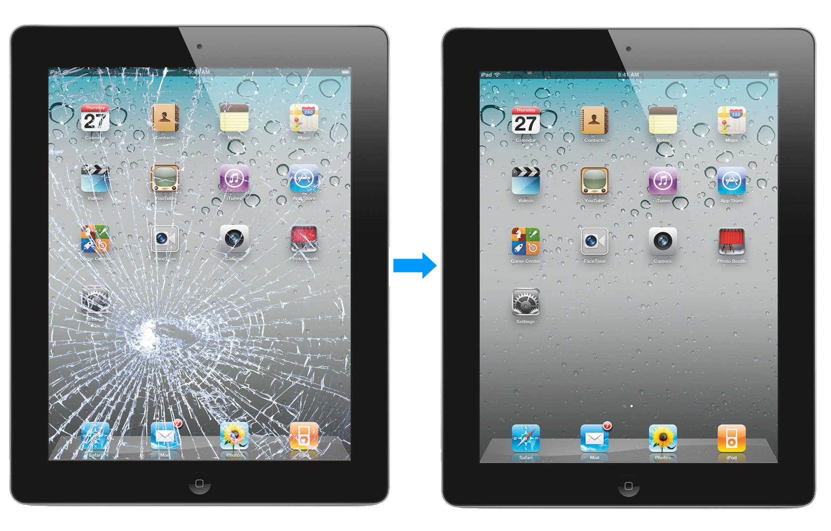 ipad screen repair image